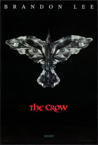 "The Crow (Miramax, 1994). One Sheets (2) (27"" X 40"") SS Teaser & Regular Styles. Action. ... (Total: 2 Ite..."
