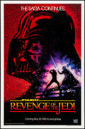 "Movie Posters:Science Fiction, Revenge of the Jedi (20th Century Fox, 1982). One Sheet (27"" X 41"") Dated Advance Style. Science Fiction.. ..."