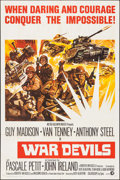 """Movie Posters:War, The War Devils & Other Lot (MGM, 1971). One Sheets (2) (27"""" X41""""). War.. ... (Total: 2 Items)"""
