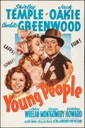 """Movie Posters:Drama, Young People (20th Century Fox, 1940). One Sheet (27"""" X 41""""). Drama.. ..."""
