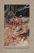 Books:Children's Books, [J. R. R. Tolkien, contributor]. Dora Owen, editor. The Book ofFairy Poetry. London: 1920. First edition featuring ...