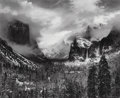 Photographs, Ansel Adams (American, 1902-1984). Clearing Winter Storm, Yosemite National Park, 1937. Gelatin silver, 1973-1975. 15-1/...