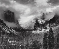 Ansel Adams (American, 1902-1984) Clearing Winter Storm, Yosemite National Park, 1937 Gelatin silver