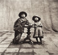 Photographs:Platinum-palladium, Irving Penn (American, 1917-2009). Cuzco Children, Peru,December, 1948. Platinum-palladium, flush-mounted to aluminum,...