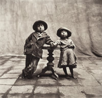 Irving Penn (American, 1917-2009) Cuzco Children, Peru, December, 1948 Platinum-palladium, flush-mou