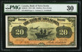 Canadian Currency: , Halifax, NS- The Bank of Nova Scotia $20 Feb. 1, 1918 Ch. #550-28-16.. ...