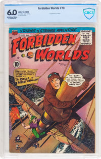 Forbidden Worlds #73 (ACG, 1958) CBCS FN 6.0 Off-white to white pages