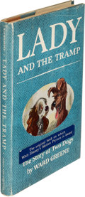 Books:Children's Books, [Walt Disney]. Ward Greene. Lady and the Tramp. The Storyof Two Dogs. Pictures by Joe G. Rinaldi. New York: Sim...