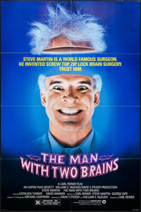 """The Man with Two Brains & Others Lot (Warner Brothers, 1983). Folded, Very Fine-. One Sheets (3) (27"""" X 40&..."""