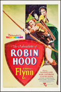 """Movie Posters:Swashbuckler, The Adventures of Robin Hood (United Artists, R-1976). One Sheet (27"""" X 41""""). Swashbuckler.. ..."""