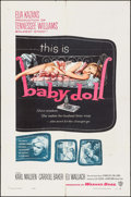 """Movie Posters:Drama, Baby Doll (Warner Brothers, 1957). One Sheet (27"""" X 41""""). Drama....."""