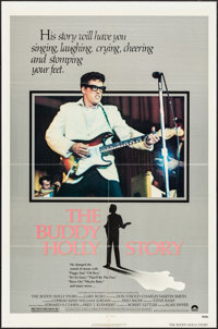 "The Buddy Holly Story (Columbia, 1978). Folded, Fine+. One Sheet (27"" X 41""). Rock and Roll"