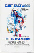 "Movie Posters:Action, The Eiger Sanction & Other Lot (Universal, 1975). One Sheets(2) (27"" X 41"") & Photos (6) (8"" X 10""). Action.. ... (Total: 8Items)"