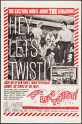 """Movie Posters:Rock and Roll, Hey, Let's Twist (Paramount, 1962). One Sheet (27"""" X 41""""). Rock andRoll.. ..."""