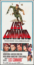 "Movie Posters:War, Lost Command (Columbia, 1966). Three Sheet (41"" X 79""). War.. ..."