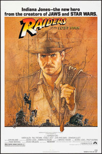 """Raiders of the Lost Ark (Paramount, 1981). One Sheet (27"""" X 41""""). Adventure"""