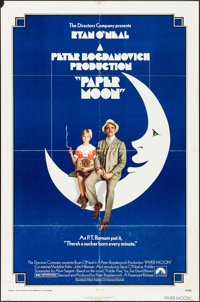 """Paper Moon & Other Lot (Paramount, 1973). One Sheets (2) (27"""" X 41""""). Comedy. ... (Total: 2 Items)"""