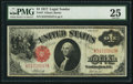 Large Size:Legal Tender Notes, Fr. 37 $1 1917 Legal Tender PMG Very Fine 25....