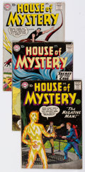 Silver Age (1956-1969):Horror, House of Mystery Group of 9 (DC, 1959-64) Condition: Average VG....(Total: 9 Comic Books)