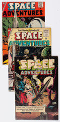 Golden Age (1938-1955):Science Fiction, Space Adventures Group of 5 (Charlton, 1953-61) Condition: AverageVG+.... (Total: 5 Comic Books)