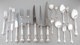 A One Hundred and Forty-Three Piece Gorham Chantilly Pattern Silver Flatware Service, Providence, Rhode Island, ... (Tot...