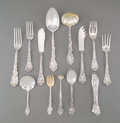 Silver Flatware, American:Gorham, An Eighty-One Piece Gorham Versailles Pattern SilverFlatware Group, Providence, Rhode Island, designed 1888. Ma...(Total: 81 Items)