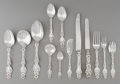 Silver Flatware, American:Whiting, A One Hundred and Twenty-One Piece Whiting Lily PatternSilver Flatware Service, New York, designed 1902. Marks:... (Total:121 Items)