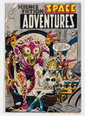 Golden Age (1938-1955):Science Fiction, Space Adventures #12 (Charlton, 1954) Condition: GD/VG....