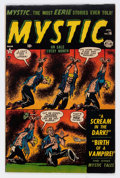 Golden Age (1938-1955):Horror, Mystic #16 (Atlas, 1953) Condition: VG+....