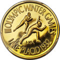 United States, United States: Lake Placid Olympics gold Proof Medal 1978 PR66 DeepCameo PCGS,...