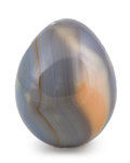 Lapidary Art:Eggs and Spheres, Polychrome Jasper Egg. Madagascar. 2.89 x 2.32 inches (7.34 x5.89 cm). ...