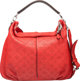"Louis Vuitton Red Mahina Leather Selene Bag MM Condition: 3 16.5"" Width x 15"" Height x 2"" Depth"