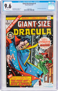 Bronze Age (1970-1979):Horror, Giant-Size Dracula #5 (Marvel, 1975) CGC NM+ 9.6 White pages....