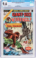 Bronze Age (1970-1979):Horror, Giant-Size Werewolf By Night #5 (Marvel, 1975) CGC NM+ 9.6 Whitepages....