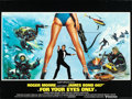 "Movie Posters:James Bond, For Your Eyes Only (United Artists, 1981). British Quad (30"" X 40"")Brian Bysouth Artwork.. ..."