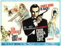 "From Russia with Love (United Artists, 1964). British Quad (30"" X 40"") Renato Fratini and Eric Pulford Artwork..."