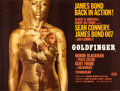 "Movie Posters:James Bond, Goldfinger (United Artists, 1964). British Quad (30"" X 40"") Style A.. ..."