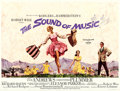"Movie Posters:Academy Award Winners, The Sound of Music (20th Century Fox, 1965). British Quad (30"" X40"") First Wide Release Version, Howard Terpning Artwork.. ..."