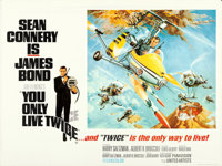 """You Only Live Twice (United Artists, 1967). British Quad (30"""" X 40"""") Style B, Frank McCarthy and Robert McGinn..."""