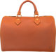 "Louis Vuitton Natural Nomade Leather Speedy Bag Condition: 4 13"" Width x 8.5"" Height x 7"" Depth This bag..."