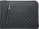"Louis Vuitton Damier Graphite Coated Canvas Poche Documents Holder Condition: 2 14.5"" Width x 10.5"" Height x 1..."