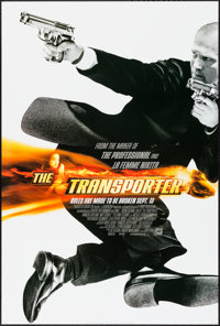 """The Transporter & Others Lot (20th Century Fox, 2002). One Sheets (3) (27"""" X 40"""") DS Style A. Action..."""