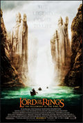 "Movie Posters:Fantasy, The Lord of the Rings: The Fellowship of the Ring (New Line, 2001). One Sheet (27"" X 41"") DS Advance. Fantasy.. ..."