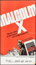 "Movie Posters:Documentary, Malcolm X (Warner Brothers, 1972). One Sheets (2) (27"" X 41"", 25"" X 44.5). Documentary.. ... (Total: 2 Items)"