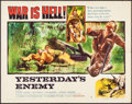 """Movie Posters:War, Yesterday's Enemy & Other Lot (Columbia, 1959). Half Sheet (22""""X 28"""") Style B & Pakistani One Sheet (29.5"""" X 39.5""""). War.. ...(Total: 2 Items)"""