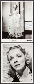 """Movie Posters:Musical, Virginia Bruce in Song of the West by Laszlo Willinger & OtherLot (MGM, 1935). Fine/Very Fine. Autographed Photos (2) (8"""" X...(Total: 2 Items)"""