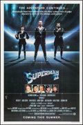 """Movie Posters:Action, Superman II (Warner Brothers, 1981). One Sheets (2) (27"""" X 41"""")Advance and Regular Style. Action.. ... (Total: 2 Items)"""