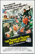 "Movie Posters:Crime, The Taking of Pelham One Two Three (United Artists, 1974). Folded, Very Fine-. One Sheet (27"" X 41""). Mort Kunstler Artwork...."