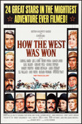 """Movie Posters:Western, How the West was Won & Other Lot (MGM, 1963). Folded, Overall:Very Fine. One Sheets (2) (27"""" X 41"""") & Photos (13) (8"""" X10""""... (Total: 15 Items)"""