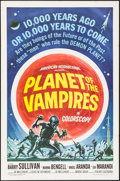 """Movie Posters:Horror, Planet of the Vampires (American International, 1965). One Sheet (27"""" X 41""""). Horror.. ..."""